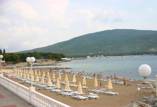 Пляж пансионата Кабардинка